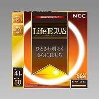 NEC LifeEスリム 丸形蛍光灯 高周波点灯専用 41形 3波長形電球色 【5本入り】 FHC41ELLE