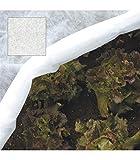 Rotolo: 2,0 x 10 m. Grammatura: 17 gr. /m2. Fibra di polipropilene non tessuto Leggero, permeabile all'acqua, all'aria e alla luce. Protegge da freddo, vento, insetti e uccelli.