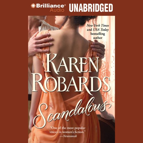 Scandalous audiobook cover art