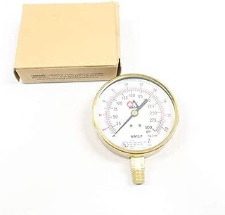 USG P1590 Pressure Gauge 3-1/2IN 1/4IN NPT 0-300PSI