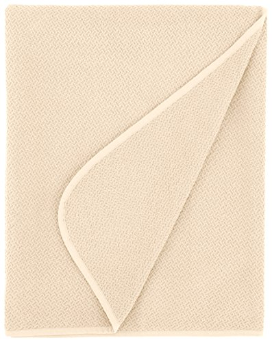 Find Bargain Coyuchi 1011682 Organic Honeycomb Blanket, Queen, Ivory