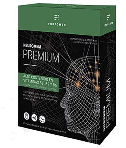 NEUROMEM PREMIUM 20 Viales - HERBORA