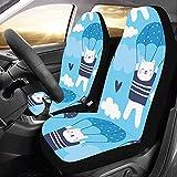 Xiaoyinghua Abdeckung für Autositze Cute Romance Schöne Fallschirm Autositzbezüge Protector