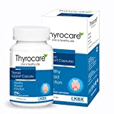 100% Natural Thyroid Care capsules with