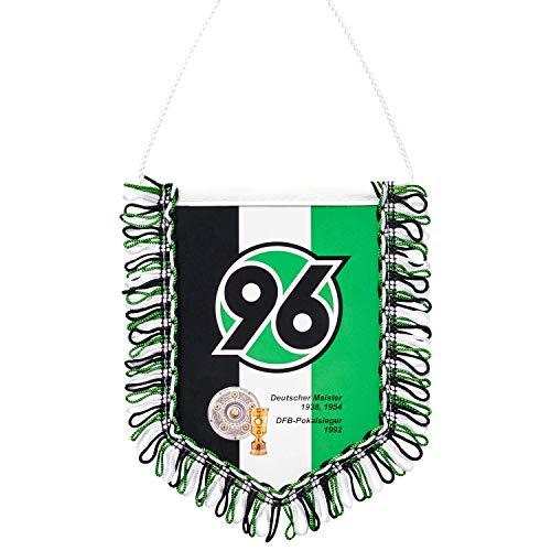 """H96 Hannover 96 Auto-Wimpel """"96-Erfolge"""