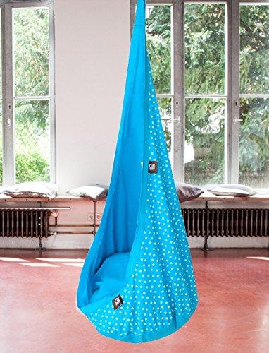grafin teriors Fauteuil suspendu Höhle relaxme pour enfant, produit de la marque GI Design Türkis
