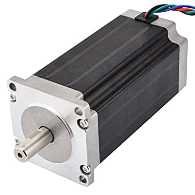 High Torque Nema 23 CNC Stepper Motor 114mm 425oz.in/3Nm CNC Mill Lathe Router by STEPPERONLINE