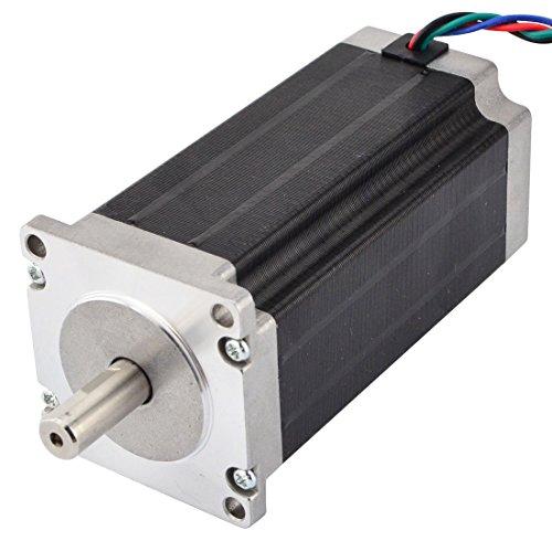 STEPPERONLINE Nema 23 Schrittmotor 3Nm 4,2A 4-Draht 10mm Schacht für CNC Fräsen Drehbank Plasma