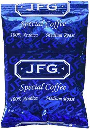 JFG 100 Arabica Coffee Special Blend, 1.75 Ounce - 72 per case.