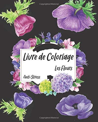 Coloriage de fleurs pour adultes