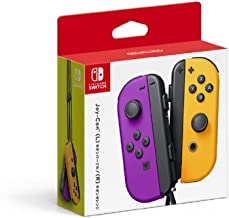 $95 » Nintendo Neon Purple/Neon Orange Joy-Con (L-R) - Switch (Japan Import)