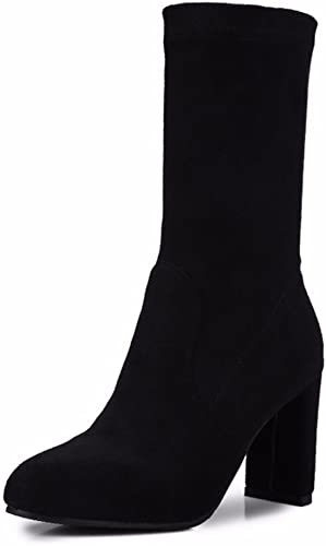 En hiver, les chaussures à talons hauts bottes bottes code code couleur  nouvelle exclusivité haut de gamme