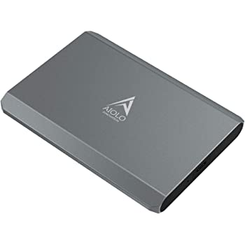 AIOLO 500GB Disco Duro Externo portátil Aleación de Aluminio Tipo C USB3.1 HDD Almacenamiento Compatible para PC, Mac, computadora de Escritorio, computadora portátil, MacBook, Chromebook