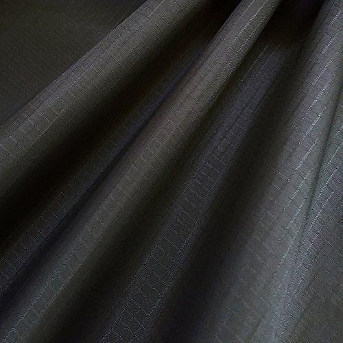 emma kites 40D リップストップ ナイロン生地 ファブリック 150cm巾 × 2M サイズ アイアングレー 薄手 無地 撥水生地 UV処理 計20色バリエーション アウトドア カイト ハンモック テント スタッフバッグ エコバッグ 手作り生地