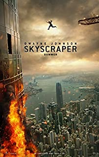 SKYSCRAPER (2018) Original Authentic Movie Poster 27x40 - Double - Sided - Dwayne Johnson - Neve Campbell - Pablo Schreiber