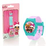 LOL Surprise Girls Digital LCD Wrist Watch  2 Assorted Colours (Picked At Random)