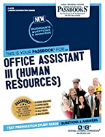 Office Assistant III: Human Resources (Career Examination)