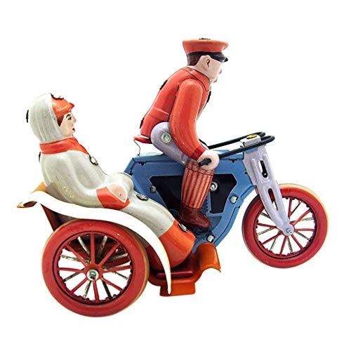 Bascar Uhrwerk Dreirad Fahrrad Spielzeug Nostalgie Uhrwerk Kette Spielzeug Geschenken Nostalgie Themenpavillon Bekleidungsgeschäft Dekoration Requisiten