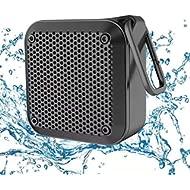 LEZII IPX8 Waterproof Bluetooth Speaker - Small Portable Wireless Speakers, 10W Bass Sound, 12h...