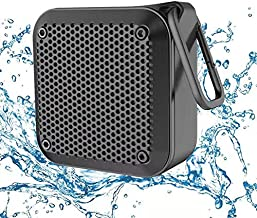 LEZII IPX8 Waterproof Bluetooth Speaker - Small Portable Wireless Speakers, 10W Bass Sound, 12h Playtime, Floating Speaker for Shower Beach Pool Party