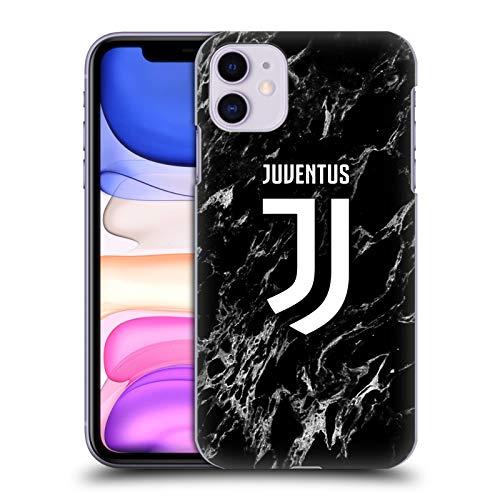 Head Case Designs Offiziell Zugelassen Juventus Football Club Schwarz Marmor Harte Rueckseiten Handyhülle Hülle Huelle kompatibel mit Apple iPhone 11