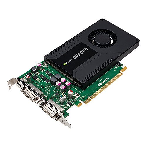 NVIDIA Quadro K2000D - Grafikkarten - Quadro K2000D - 2 GB GDDR5 - PCIe 2.0 x16 - 2 x DVI, Mini DisplayPort