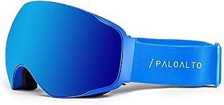 Paloalto Sunglasses Shasta–Gafas de esquí polarizadas Unisex, Azul