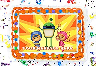 Team Umizoomi Cake Topper Edible Image Personalized Cupcakes Frosting Sugar Sheet (8