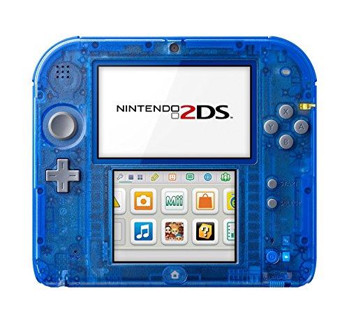 Nintendo 2DS - Konsole (Transparent Blue)