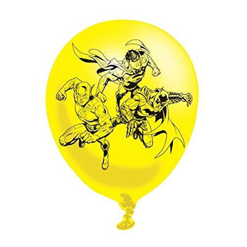 amscan 9900901 Justice League Ballons en Latex