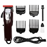 FastUU Hair Clipper Trimmer, Professional Wireless USB Electric Hair Clippers Set, Sharp Not Hurting Skin Beard Trimmer para Hombres, Mujeres, barberos, hogar, Viajes