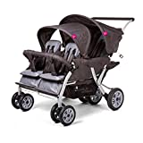 Poussette quadruple Quadro de Childwheels
