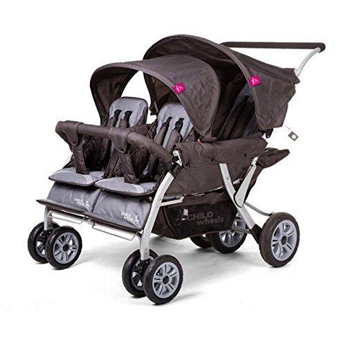 KADOLIS - Poussette quadruple Childwheels