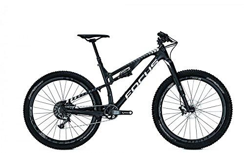 Mountainbike Focus Spine C 0.0 11G SRAM XX1 27,5' heren, framehoogte:52; kleur: zwart/wit