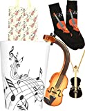 Violin Lover Gifts, Music Gifts, Music Gifts for Women, Violin Gifts for Girls, Music Teacher Gifts, Music Lovers Gifts for Women, Gifts for Music Lovers, Violin Mugs, Gifts for a Music Teacher