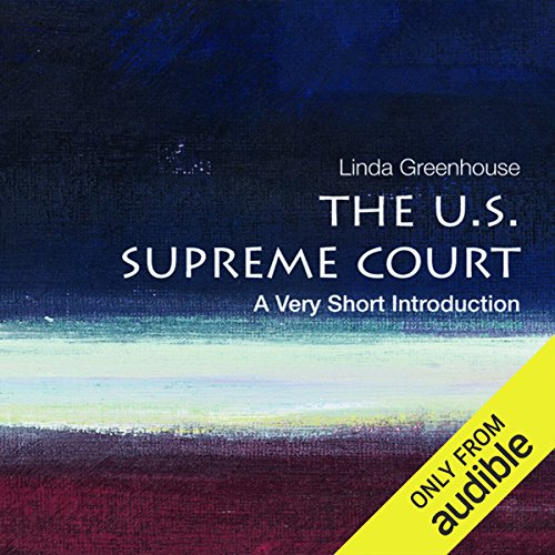 The U.S. Supreme Court: A Very Short Introduction  audiobook cover art