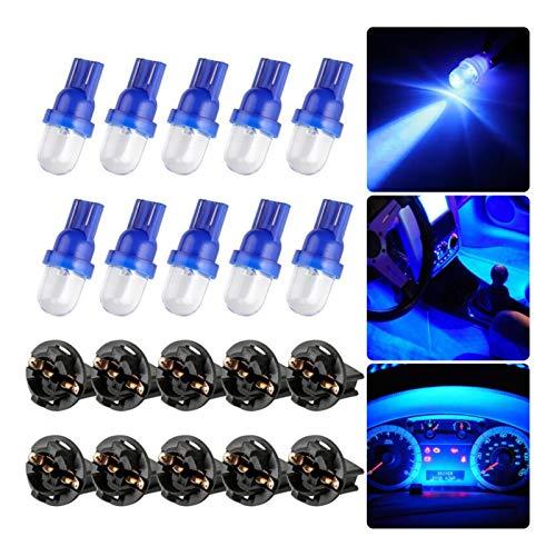 SHP Shping 10X Light 3000K ANTAL DE DECURACIÓN Azul para EL GAUGO DE Instrumentos CLUCHER Dash Light T10 194 LED Bulbs LED