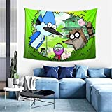 Regular Show Tapestry Wall Hanging for Dorm Decor,Exquisite Wall Tapestry 60*40inch