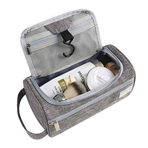 Eono Essentials Hanging Travel Toiletry Bag Overnight Wash Gym Shaving Bag for Men and...
