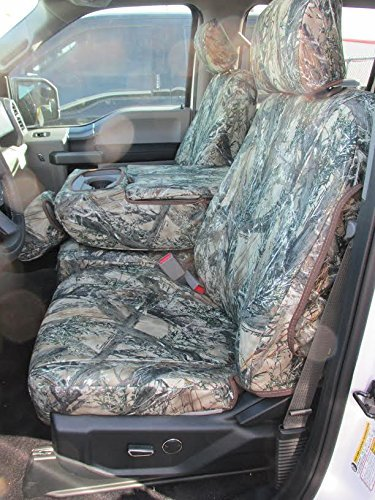 Rear 60//40 with Armrest. Durafit Seat Covers Made to fit 2002-2010 Ford F250-F550 Truck Super Crew//Xcab Front and Back Waterproof Front Seat Console 40//20//40 High Back Seats, Black C1