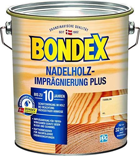 Bondex Nadelholz Imprägnierung Plus Farblos 4,00 l - 430647