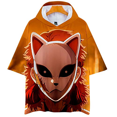 Douzxc Anime Heren T-Shirts Gym Training T-Shirt Devil'S Blade Anime Summer 3D Heren- En Dameshoodie Met Korte Mouwen