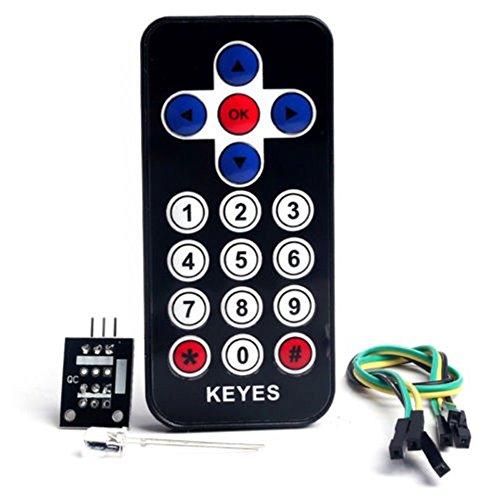 Módulo de sensor de control remoto inalámbrico por infrarrojos...