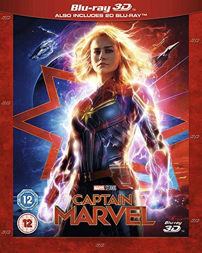 Captain Marvel [Blu-ray 3D] [2019] [Region A & B & C]