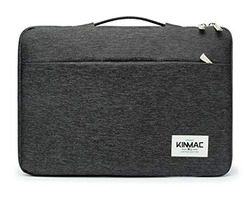 Kinmac 360° Protective Waterproof Laptop Case Bag Sleeve with Handle (14 inch, Black)