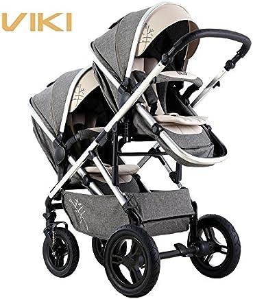 Amazon.es: ViKi - Sillas gemelares / Carritos y sillas de ...