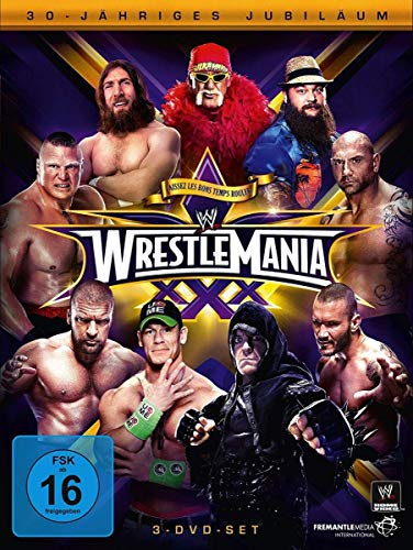 WWE - Wrestlemania XXX [3 DVDs]