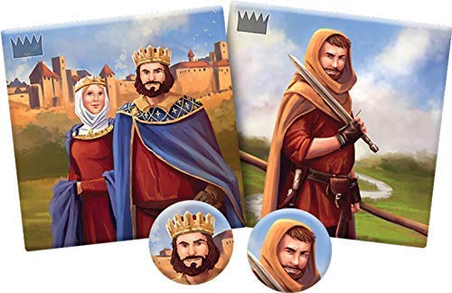 Carcassonne Count, King & Robber Board Game EXPANSION 6 | Family Board Game | Board Game for Adults and Family | Strategy Board Game | Medieval Adventure Board Game | 2-6 Players | Made by Z-Man Games