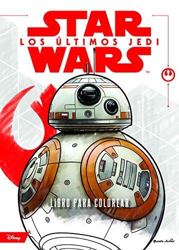 Star Wars. Los últimos Jedi. Libro para colorear