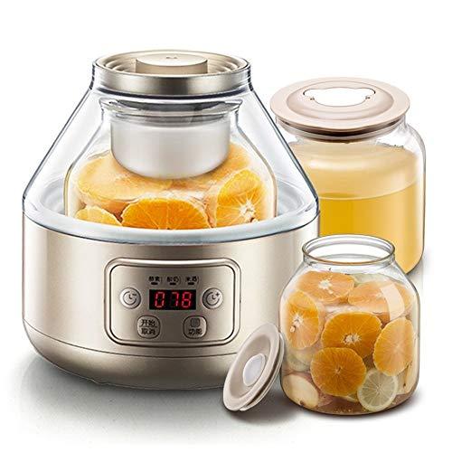 ZSQAI Multifunktionale Haushaltsenzymmaschine, Joghurtmaschine, hausgemachtes Enzym (Farbe : Gold)